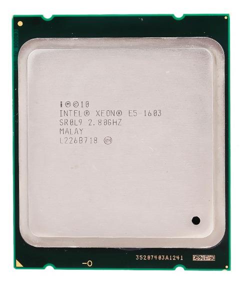 Processador Intel Xeon E5-1603 10m Alto Velocidade 2,80 Ghz