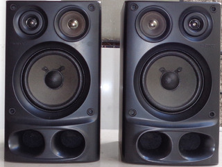 Bafles Parlantes Sony Ss-h10 40 Watts C/u 6 Ohms Japoneses