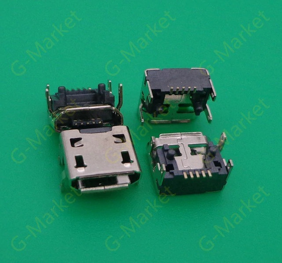 Conector Micro Usb Carga De Caixa De Som Jbl Flip 3 5und