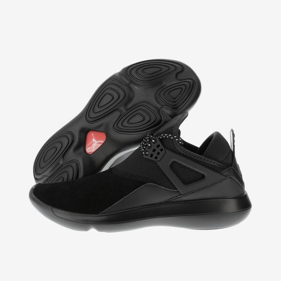 Tenis Jordan Fly 89 Black/black 100%original,piel