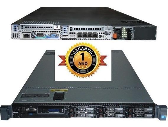 Servidor Dell R610 Xeon Quadcore 16gb Ram Ssd Sas Sata Ddr3