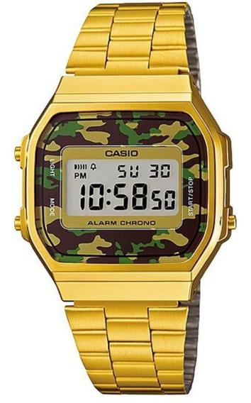Relógio Casio Vintage A168wegc-3df C/ Nota Fiscal