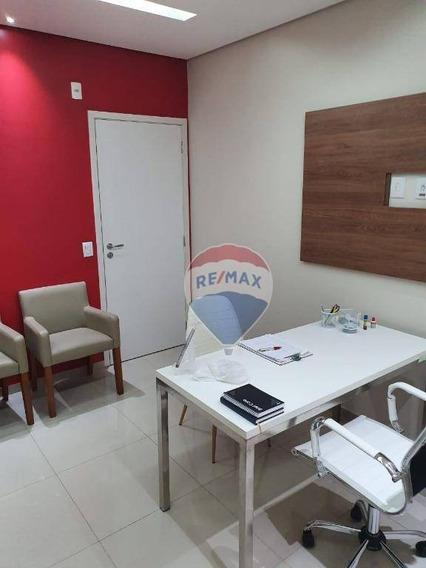 Sala Comercial No Patteo Mogilar Ideal Para Consultório/escritório - Sa0071
