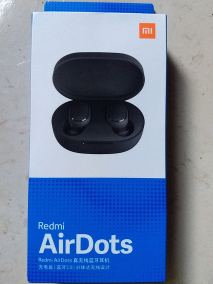 Fone De Ouvido Xiaomi Airdots Tws Bluetooth 5.0