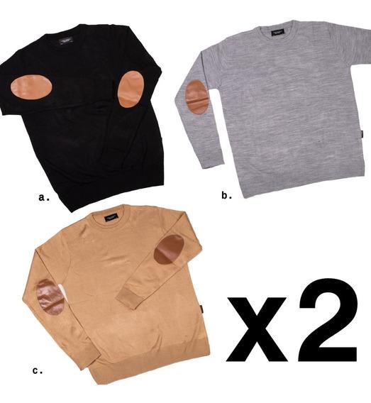 Combo Pack Set X2 Sweater Buzo Hombre Abrigo Invierno