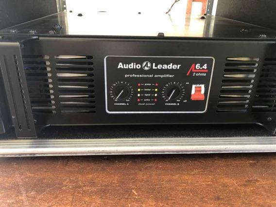 Potência Audio Leader 6.4 Semi Nova