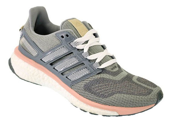 Zapatilla Mujer Running adidas Boost Energy 3 Gris