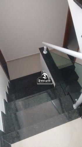 Sobrado Com 2 Dormitórios À Venda, 74 M² Por R$ 350.000,00 - Jardim Ana Maria - Santo André/sp - So2687
