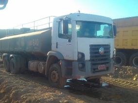 04 Volkswagem 31-320 6x4 Ano 2010/2010 Tanque Pipa