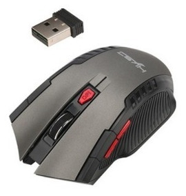Mouse Sem Fio Wireless 2.4 Ghz Dpi 2000 4 Teclas Com Scroll