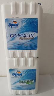 Cristalin Platinum 5lts. Y Clarit Plus 5lts.