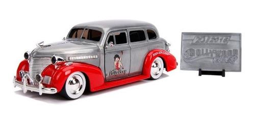 Vehículo Jada 20th Diecast - Chevy 1939 Betty Boop