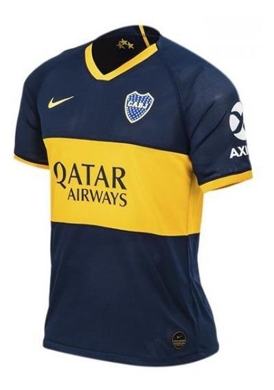 Camiseta Boca Juniors 2019/2020 Qatar Titular Original