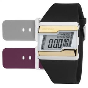 Relógio Mormaii Unisex Digital Troca Pulseiras Fzw/t8d