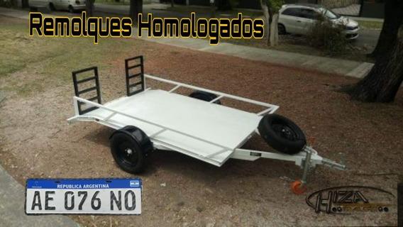 Trailer Cuatriciclo - Homologado - Lcm - Patentable