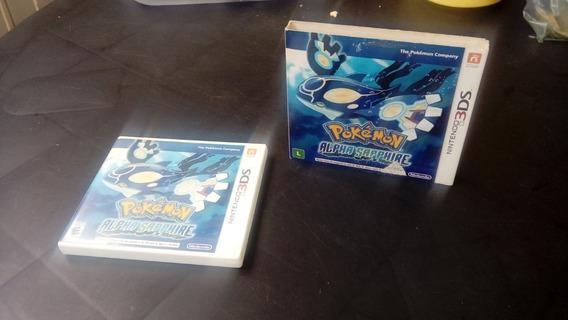 Pokemon Alpha Sapphire Com Luva Nintendo 3ds Mídia Fisica