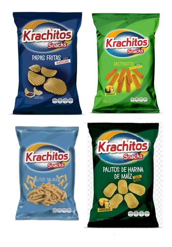 Combo Snacks Gigante Krachitos Fiestissima Liniers