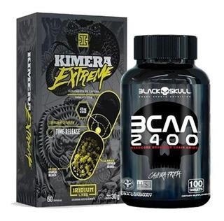 Kit Kimera Extreme 60caps + Bcaa 2400 100 Tabs