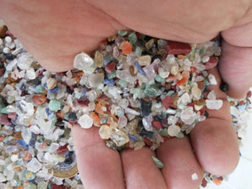 Pedras Colorida 1kg Cascalho Miúdo Bruto Artesanato Orgonite