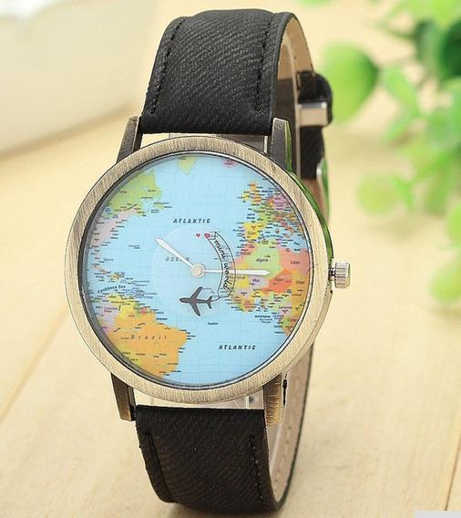 Relógio Avião + Caixa Para Relógio