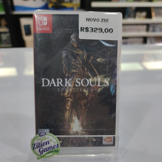 Dark Souls Remastered Nintendo Switch - Novo Lacrado