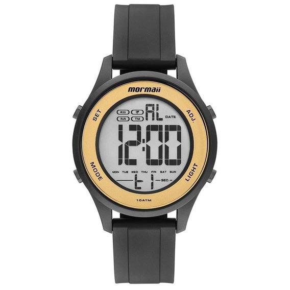 Relógio Mormaii Feminino Ref: Mo6200/8d Digital Preto
