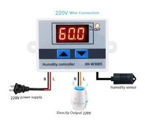 Controlador Digital De Umidade P/ Chocadeira, Câmaras, 220v