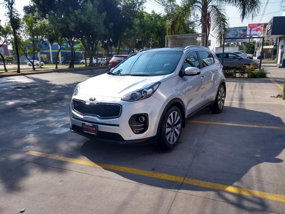 Kia Sportage Ex Pack 2018 Plata