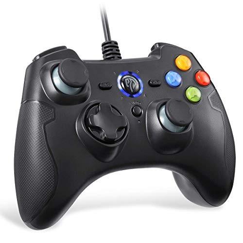 Controlador De Juegos Con Cable, Joystick De Juego De Pc Eas