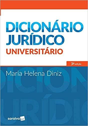 Dicionário Jurídico Universitário Maria Helena Dinz