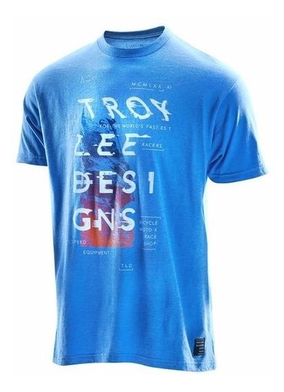 Remera Troy Lee Designs Cosmic Dawn Tee T: Xl Marelli Sports