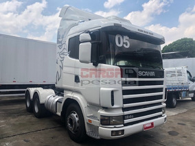 Scania R 124 400 6x4 2005 Retarder= Scania 420 440 Fh 440