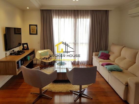 Apartamento A Venda No Bairro Real Parque Em São Paulo - - Bh60158-1