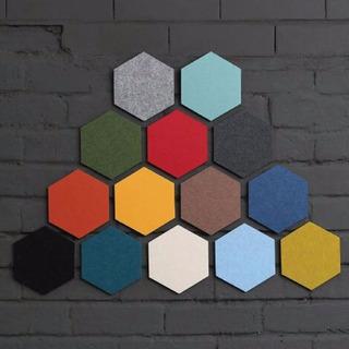 Honana Dx-149 Creativo Colorido Hexagon Lana De Fieltro Pega
