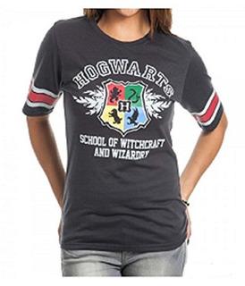 Camiseta De Hockey Negro De Harry Potter Hogwarts Juniors (x