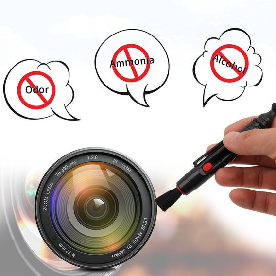 Kit De Limpeza Para Camaras Dslr E Sensitive Electronic Lens
