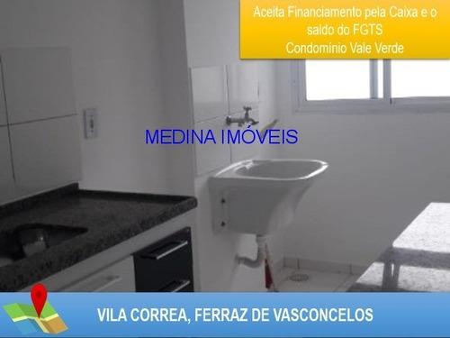 Imagem 1 de 12 de Apartamento Na Vila Correa Para Venda - Ap00073 - 4415083