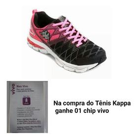 Tênis Kappa Feminino Original.ideal Para Malhar + Brinde