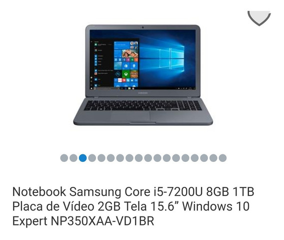 Notebook Samsung 8gb Ram 1 Tb