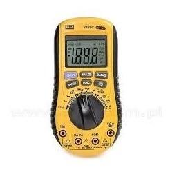 Multimetro Y Capacimetro Autorango Sin Contacto Marca Va 20c