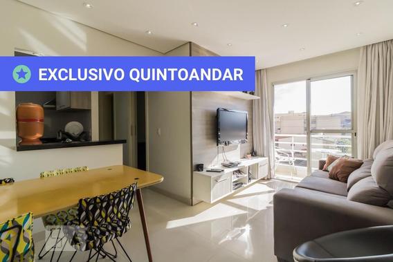 Apartamento No 6º Andar Mobiliado Com 2 Dormitórios E 2 Garagens - Id: 892945941 - 245941