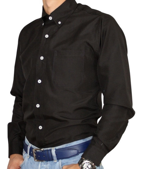 Camisa Ejecutiva Caballero Uniforme Tela Oxford Importada