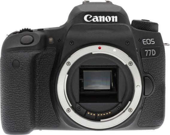 Câmera Canon 77d Corpo