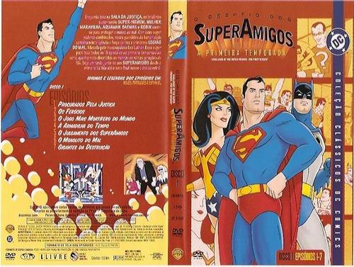 Los Super Amigos 1973 Serie