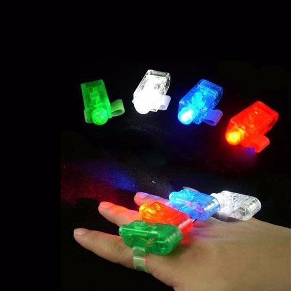 Anillos Dedo Luminoso Led Cotillon Evento X 40 Unidades
