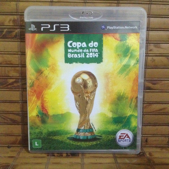 Jogo Ps3 - Copa Do Mundo Fifa Brasil 2014 - Frete Barato