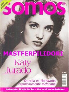 Katy Jurado Revista Somos 1997 Maria Felix Pedro Infante
