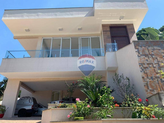 Casa Com 3 Suítes À Venda, 409 M² Por R$ 3.300.000 - Arujazinho I. Ii E Iii - Arujá/sp - Ca0121