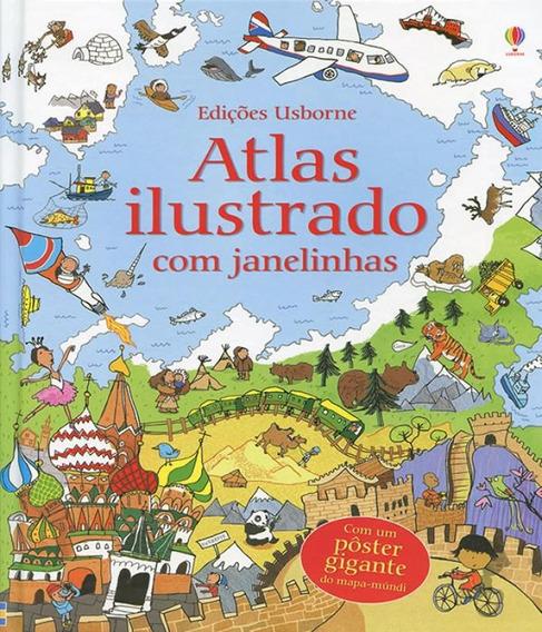 Atlas Ilustrado Com Janelinhas