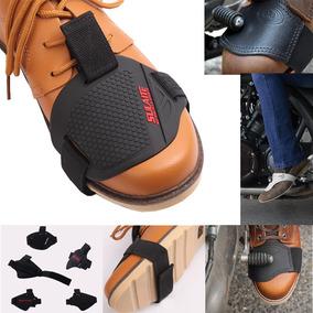 Protetor Bico Tênis Sapato Moto Motociclista Pedal Marcha